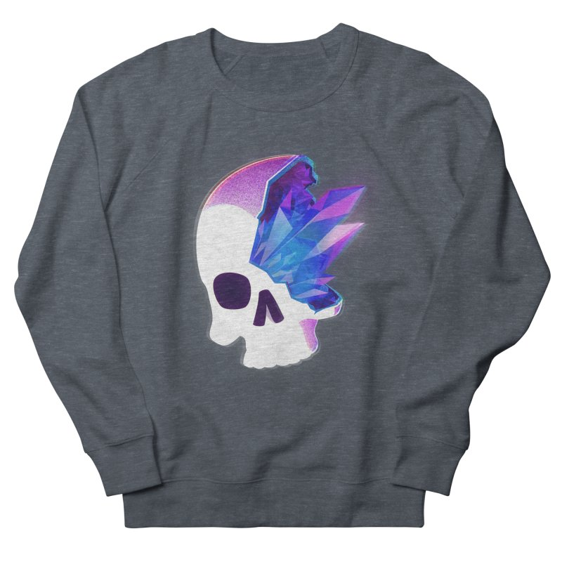 Crystal Skull Men's French Terry Sweatshirt by