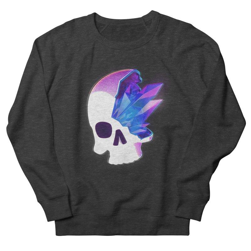 Crystal Skull Men's French Terry Sweatshirt by artofvelazuez