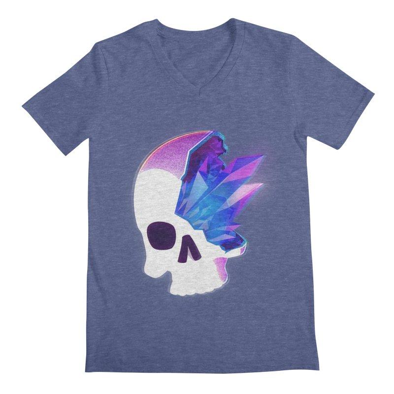Crystal Skull Men's V-Neck by