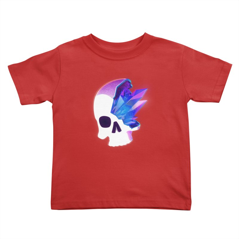 Crystal Skull Kids Toddler T-Shirt by