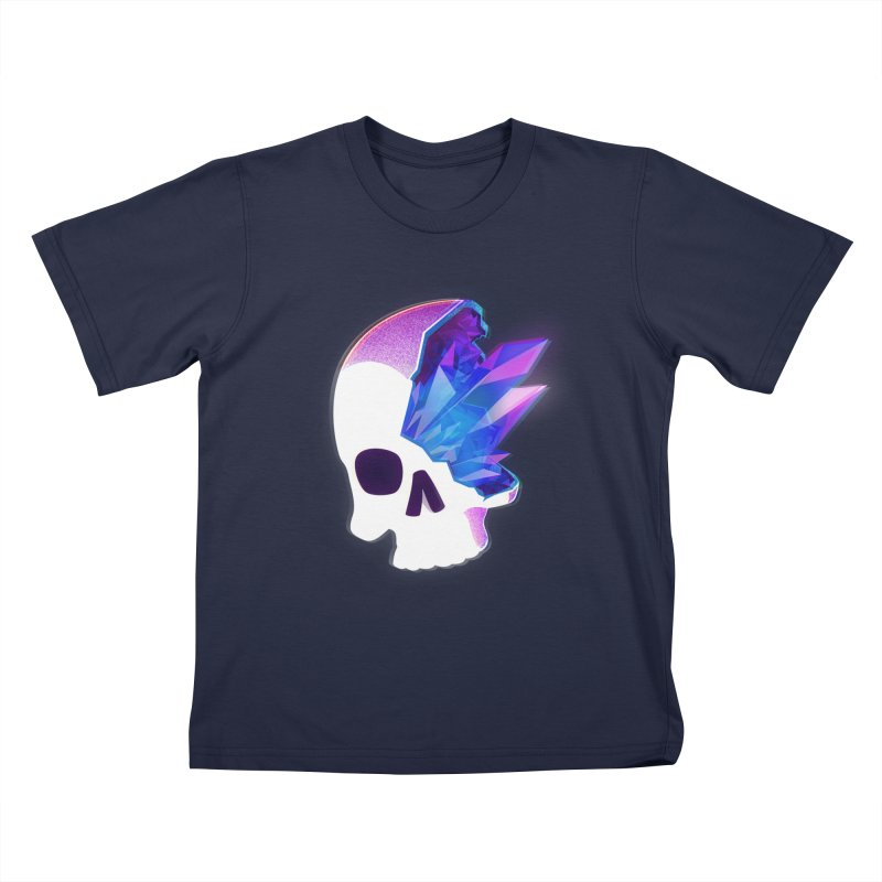Crystal Skull Kids T-Shirt by