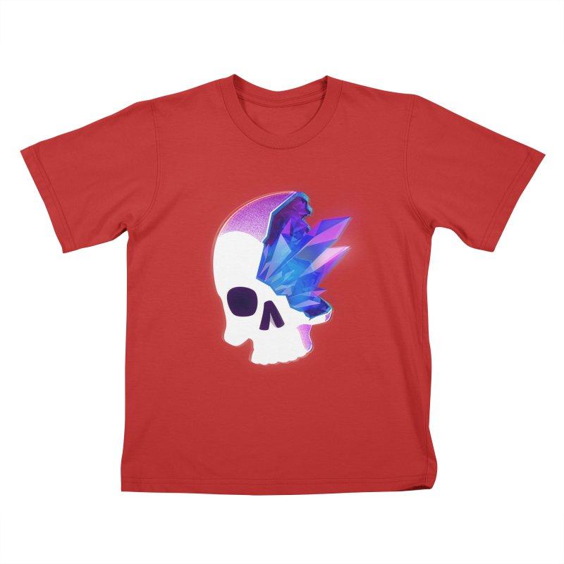 Crystal Skull Kids T-Shirt by