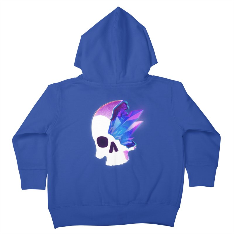 Crystal Skull Kids Toddler Zip-Up Hoody by
