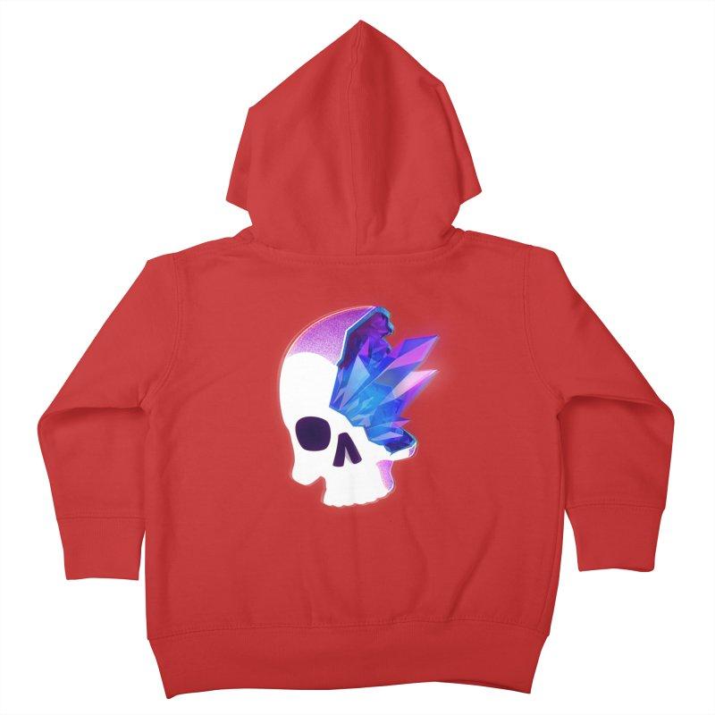 Crystal Skull Kids Toddler Zip-Up Hoody by