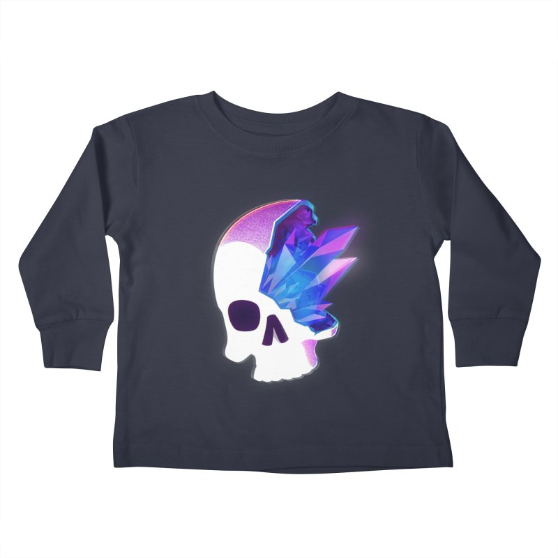 Crystal Skull Kids Toddler Longsleeve T-Shirt by