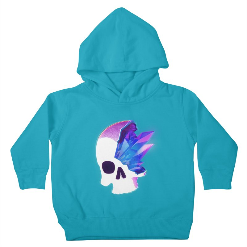 Crystal Skull Kids Toddler Pullover Hoody by