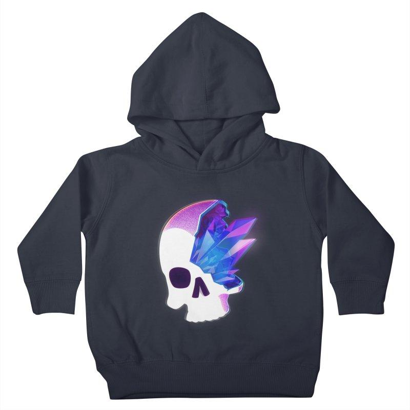 Crystal Skull Kids Toddler Pullover Hoody by