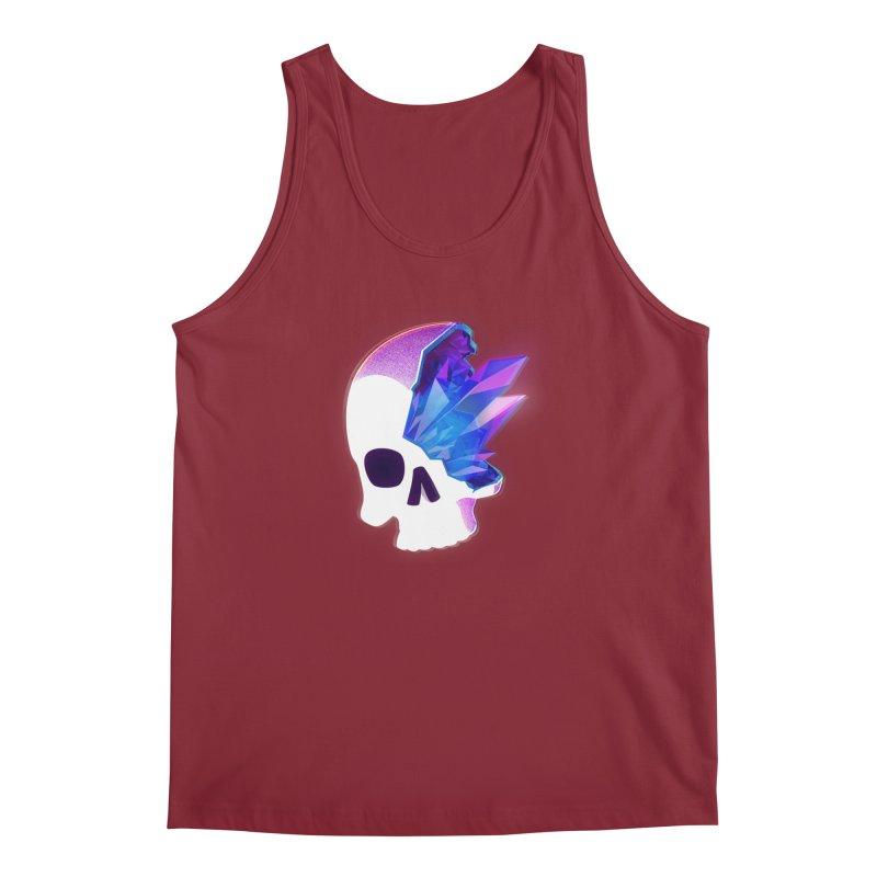 Crystal Skull Men's Regular Tank by