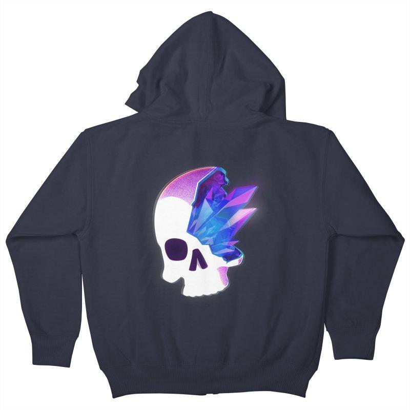 Crystal Skull Kids Zip-Up Hoody by