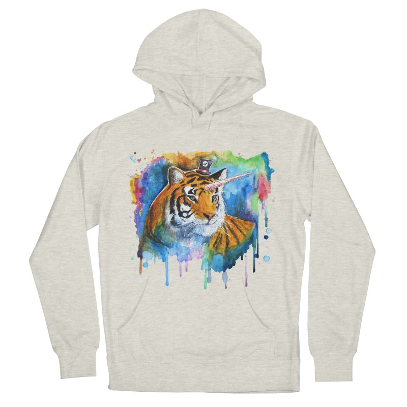 The Tigress With a Dream Women's Pullover Hoody by
