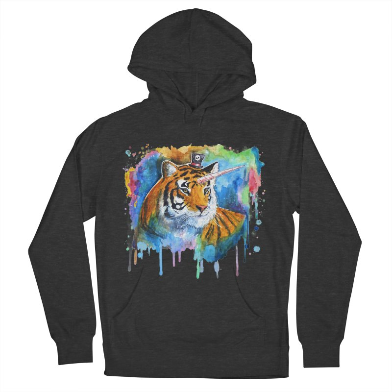 The Tigress With a Dream Men's French Terry Pullover Hoody by artofvelazuez