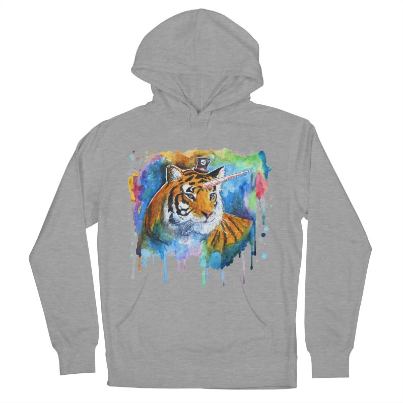 The Tigress With a Dream Men's French Terry Pullover Hoody by