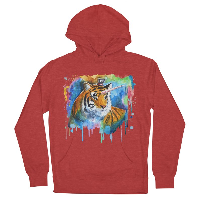 The Tigress With a Dream Men's Pullover Hoody by
