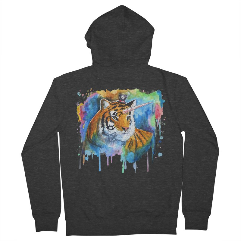 The Tigress With a Dream Women's Zip-Up Hoody by