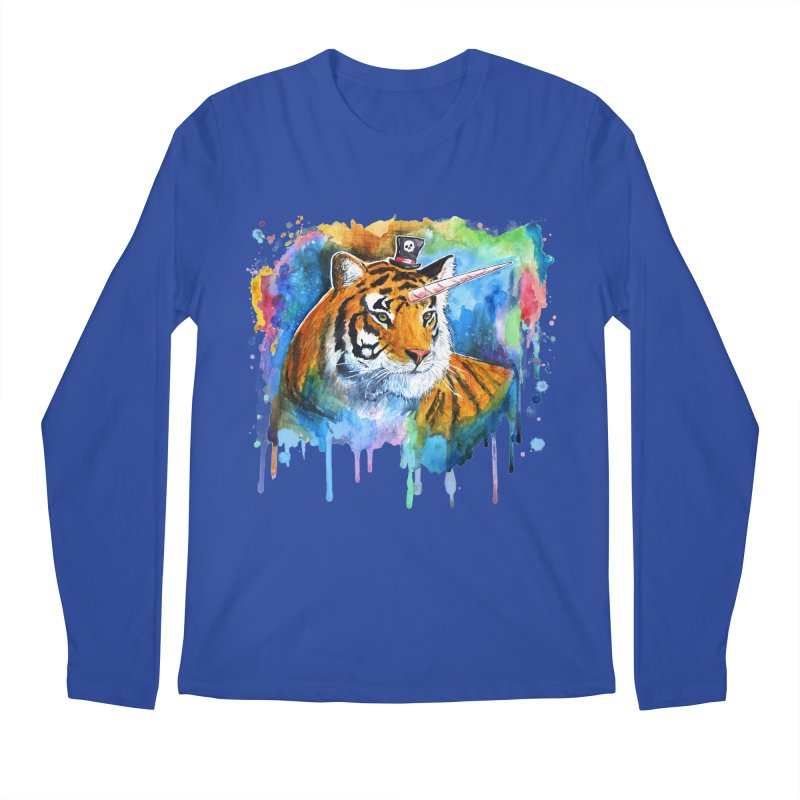 The Tigress With a Dream Men's Regular Longsleeve T-Shirt by artofvelazuez