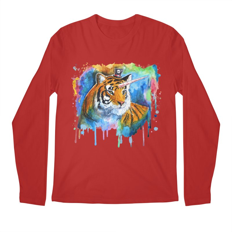 The Tigress With a Dream Men's Longsleeve T-Shirt by