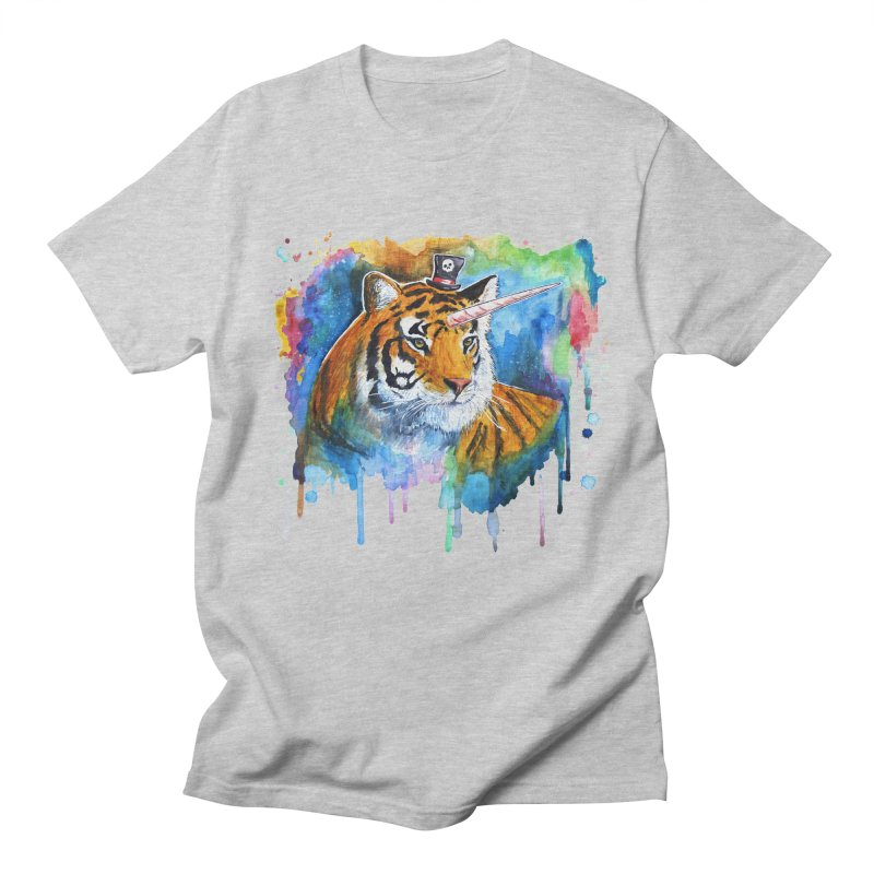 The Tigress With a Dream Men's Regular T-Shirt by
