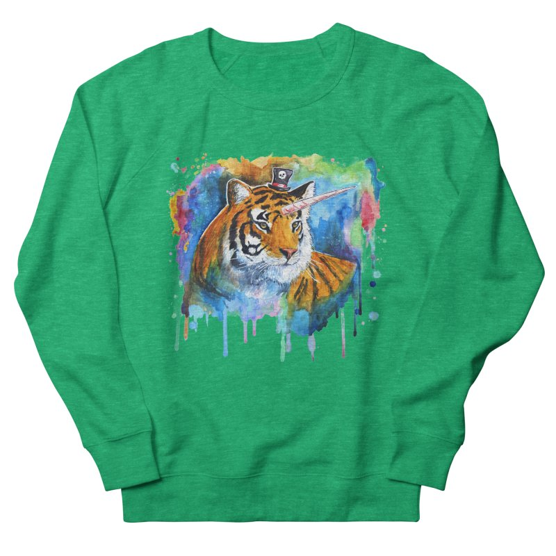 The Tigress With a Dream Men's French Terry Sweatshirt by