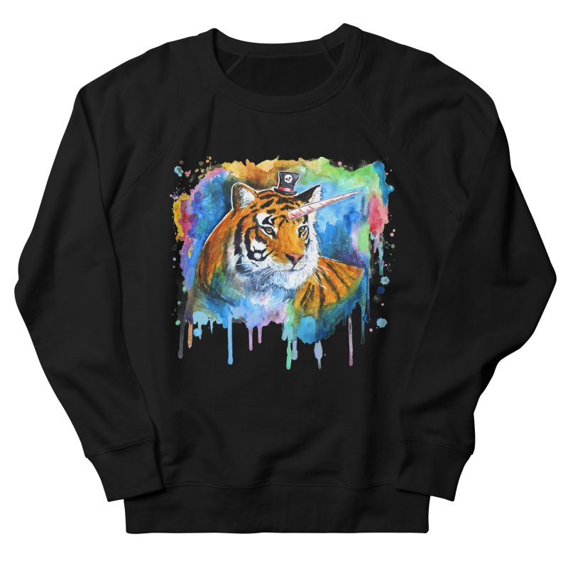 The Tigress With a Dream Men's Sweatshirt by