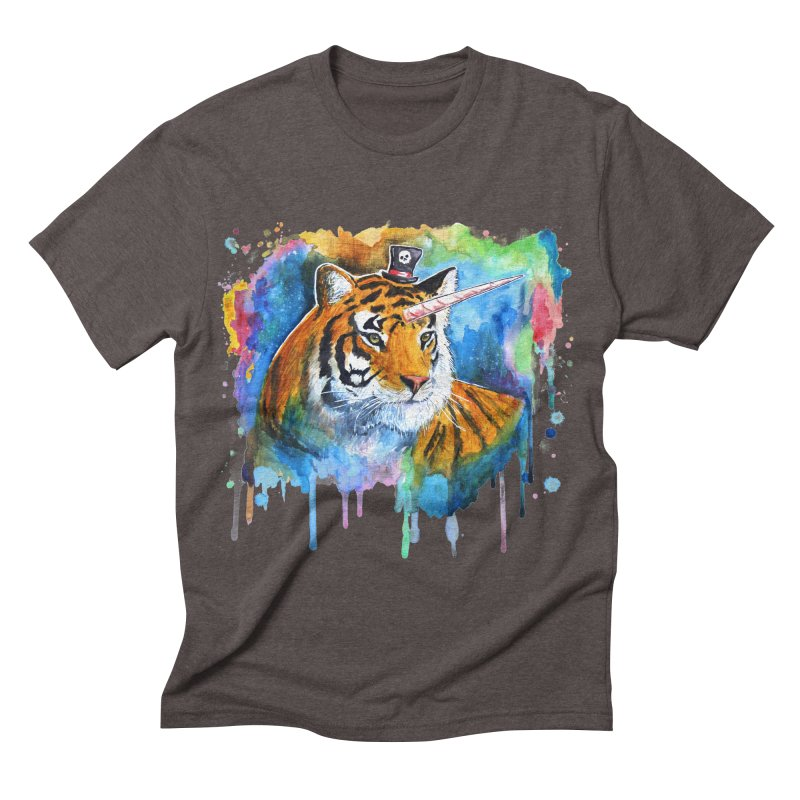 The Tigress With a Dream Men's Triblend T-shirt by