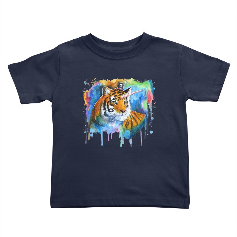 The Tigress With a Dream Kids Toddler T-Shirt by