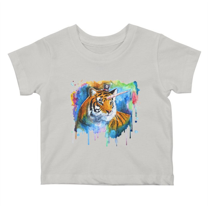 The Tigress With a Dream Kids Baby T-Shirt by