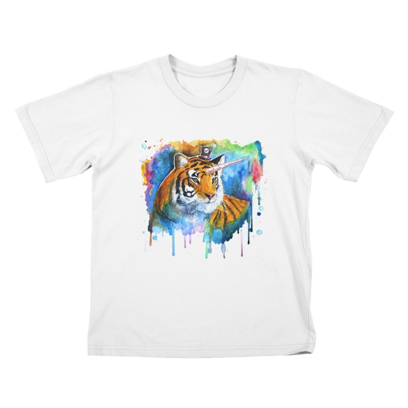 The Tigress With a Dream Kids T-Shirt by