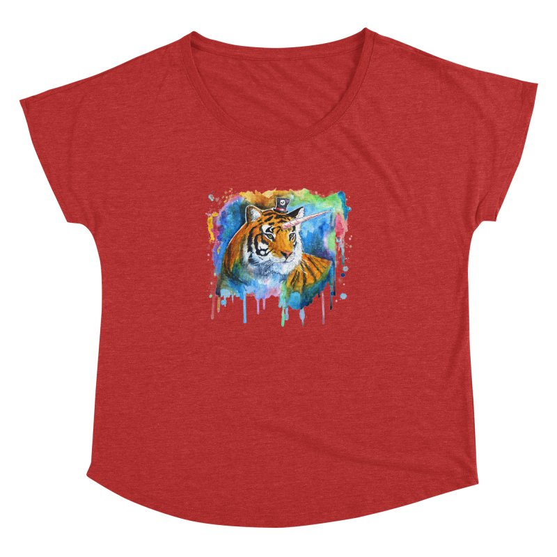 The Tigress With a Dream Women's Dolman by