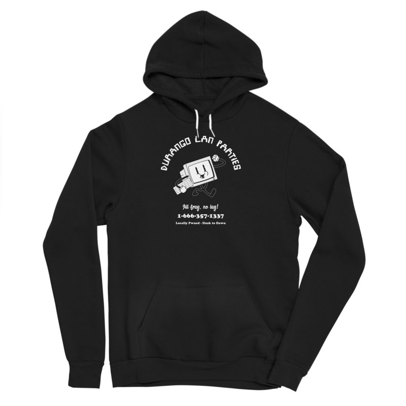 Durango LAN Parties NEGA-SHIRT Men's Pullover Hoody by Brett Masse Works
