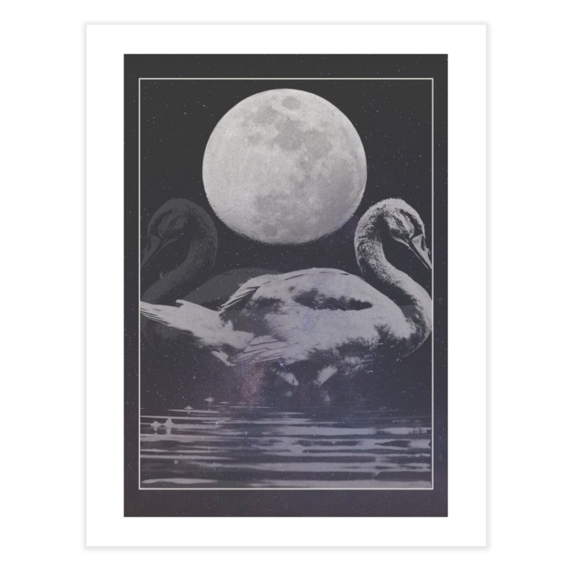 SWANS Home Fine Art Print by strangefiction's Shop