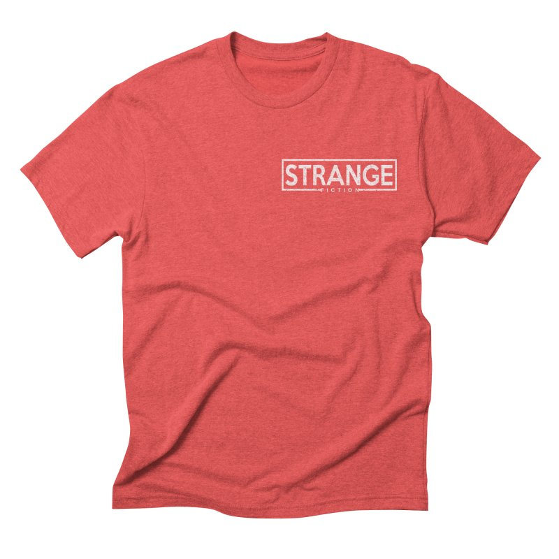 LOGO TEE Men's Triblend T-shirt by strangefiction's Shop