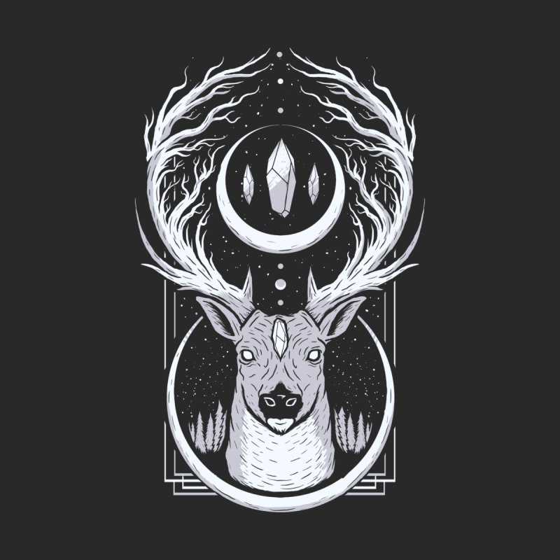DEER TREE by strangefiction's Shop