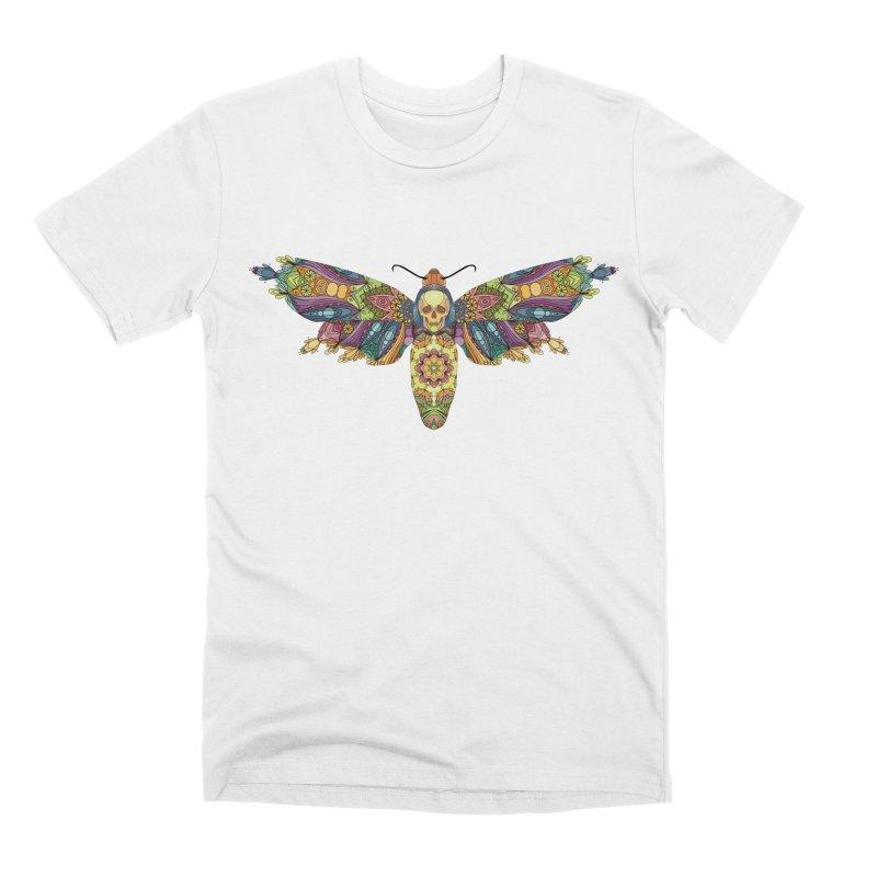 Mosaic Fumery Moth Men's T-Shirt by The Fumery Clothing Depot