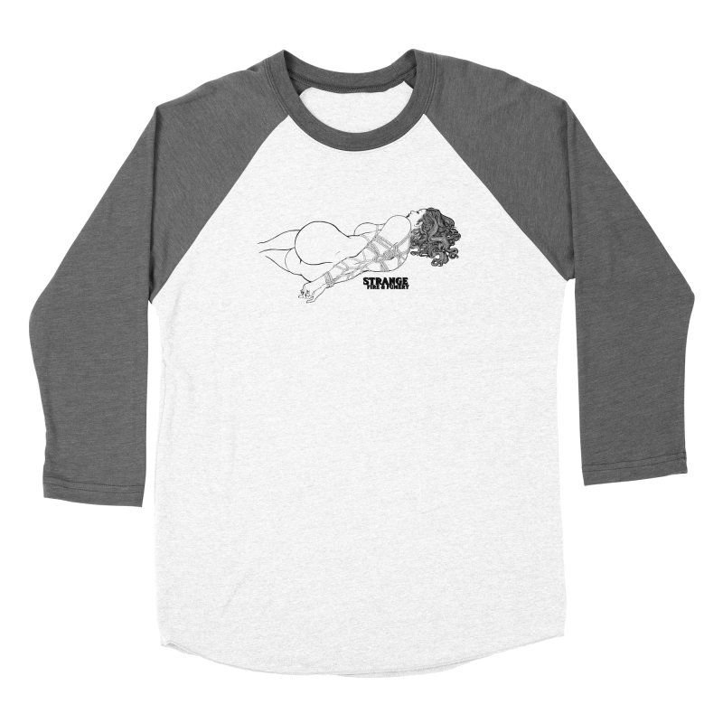 Odalisque (black) Women's Longsleeve T-Shirt by The Fumery Clothing Depot