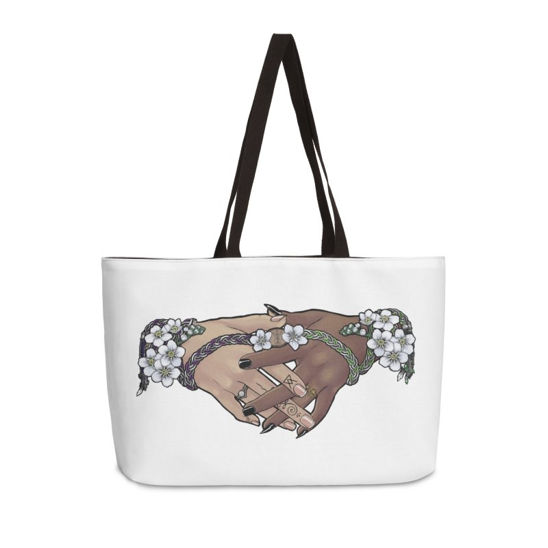 Witch Wife Lavender Project Fundraiser (Ace/Aro) Accessories Bag by The Fumery Clothing Depot