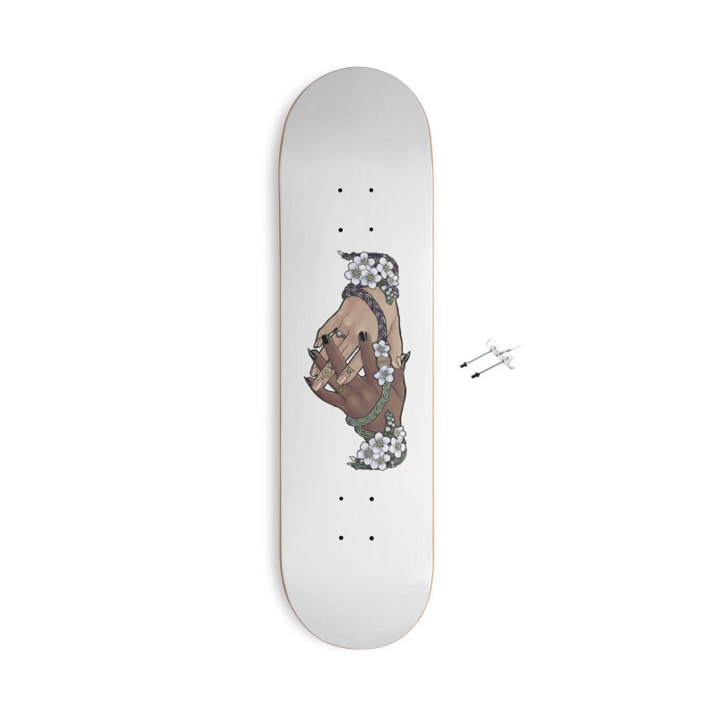 Witch Wife Lavender Project Fundraiser (Ace/Aro) Accessories Skateboard by The Fumery Clothing Depot