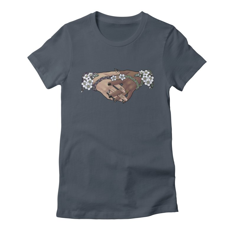 Witch Wife Lavender Project Fundraiser (Ace/Aro) Women's T-Shirt by The Fumery Clothing Depot