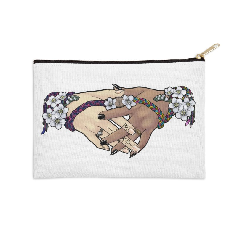 Witch Wife Lavender Project Fundraiser (Bi/Pan) Accessories Zip Pouch by The Fumery Clothing Depot