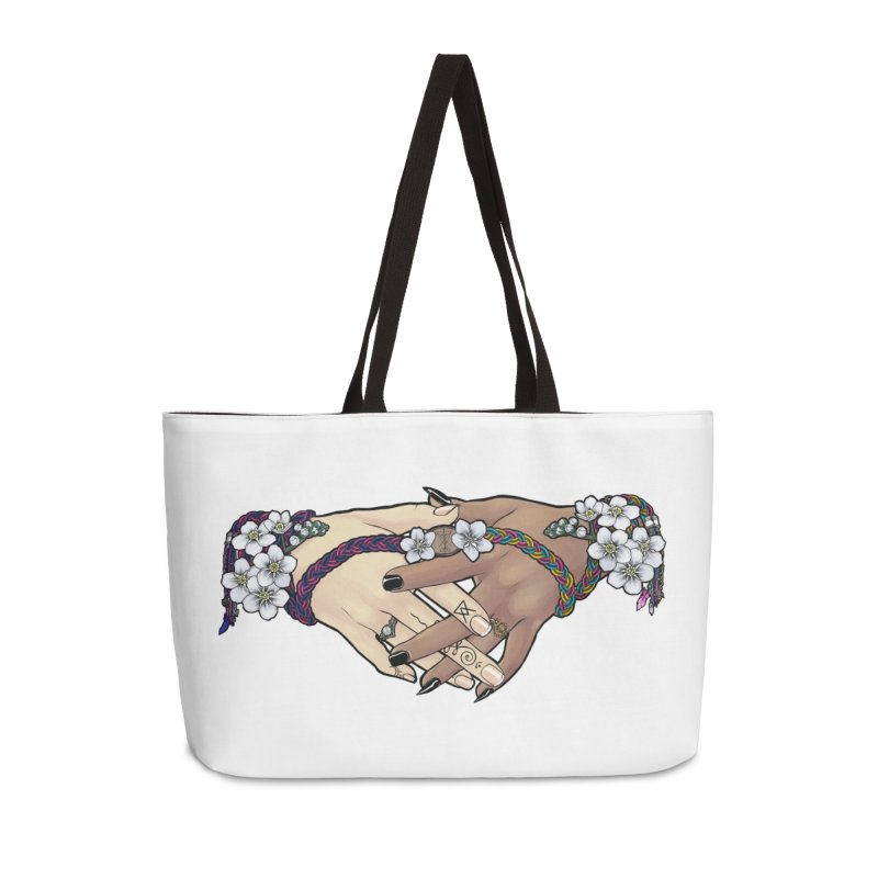 Witch Wife Lavender Project Fundraiser (Bi/Pan) Accessories Bag by The Fumery Clothing Depot