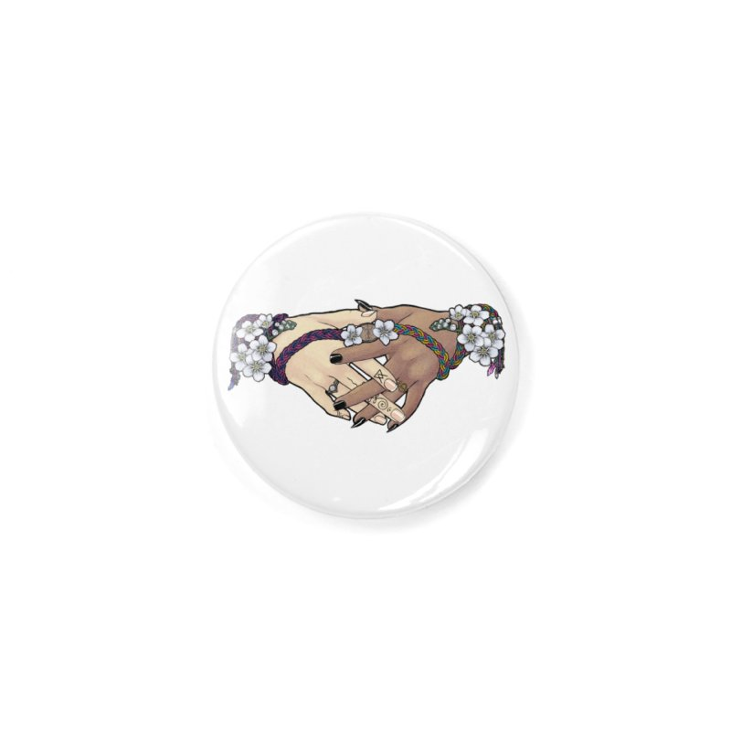 Witch Wife Lavender Project Fundraiser (Bi/Pan) Accessories Button by The Fumery Clothing Depot
