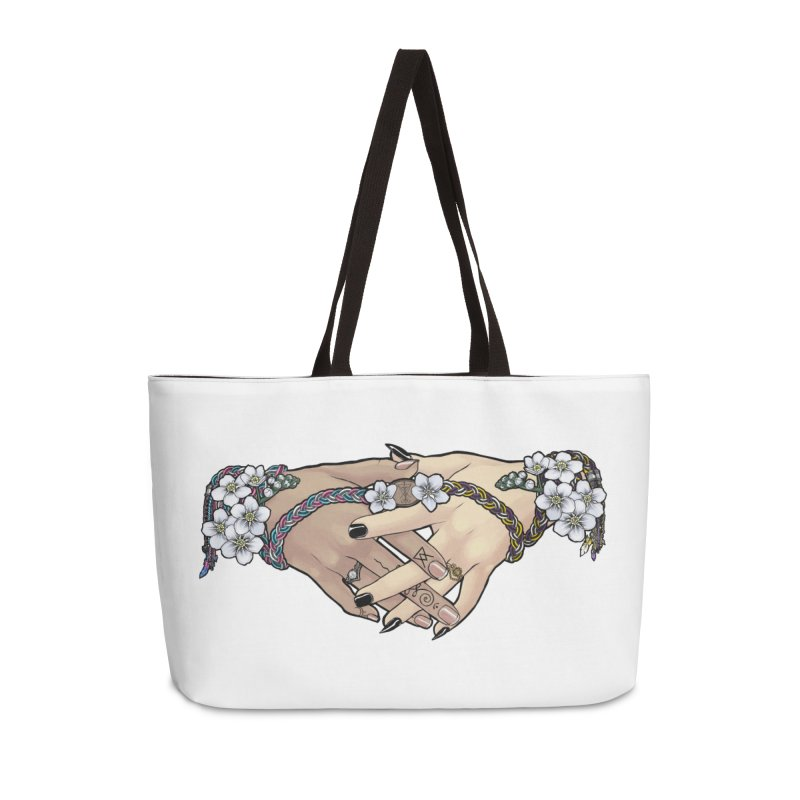 Witch Wife Lavender Project Fundraiser (Trans/Nonbinary) Accessories Bag by The Fumery Clothing Depot