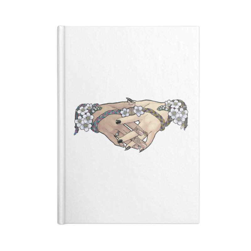 Witch Wife Lavender Project Fundraiser (Trans/Nonbinary) Accessories Notebook by The Fumery Clothing Depot