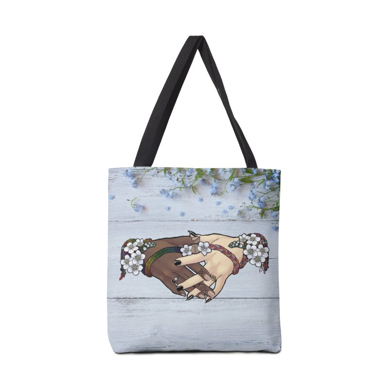 Witch Wife Lavender Project Fundraiser (Gay/Lesbian) Accessories Bag by The Fumery Clothing Depot