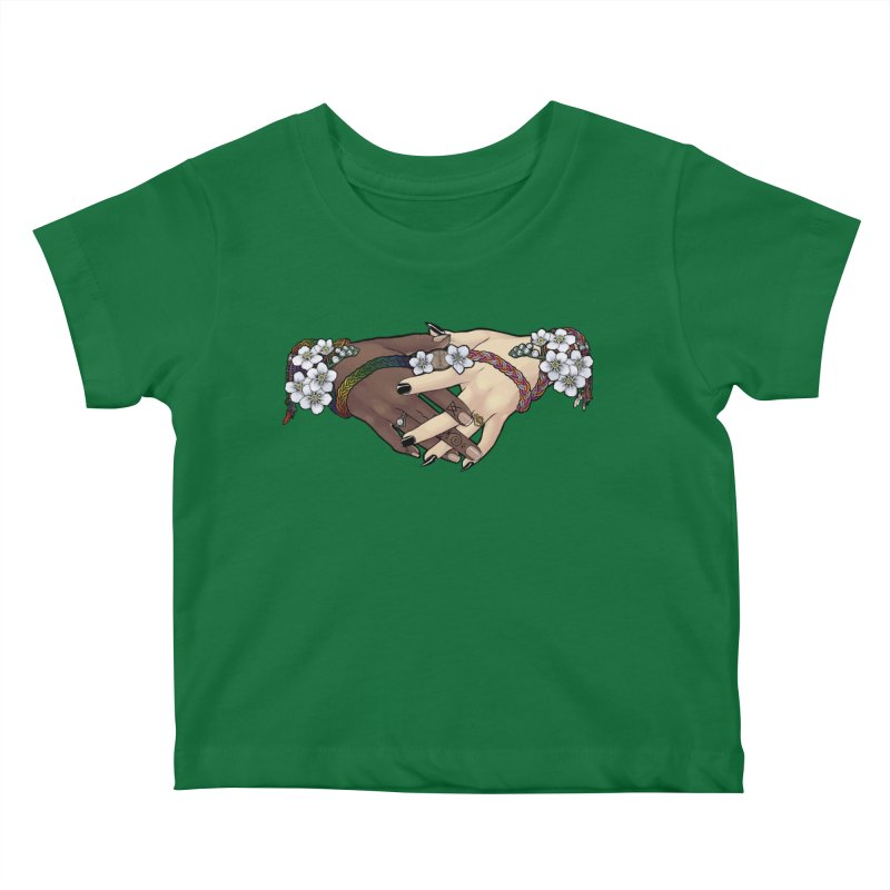Witch Wife Lavender Project Fundraiser (Gay/Lesbian) Kids Baby T-Shirt by The Fumery Clothing Depot