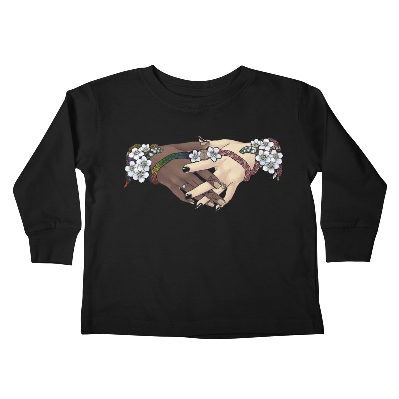 Witch Wife Lavender Project Fundraiser (Gay/Lesbian) Kids Toddler Longsleeve T-Shirt by The Fumery Clothing Depot
