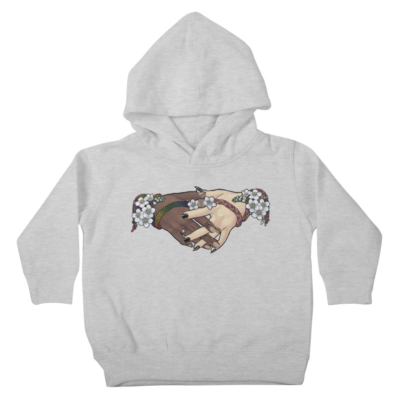 Witch Wife Lavender Project Fundraiser (Gay/Lesbian) Kids Toddler Pullover Hoody by The Fumery Clothing Depot