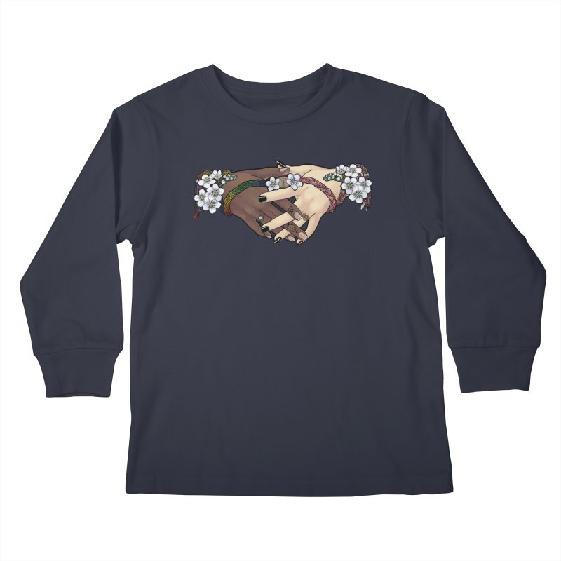 Witch Wife Lavender Project Fundraiser (Gay/Lesbian) Kids Longsleeve T-Shirt by The Fumery Clothing Depot
