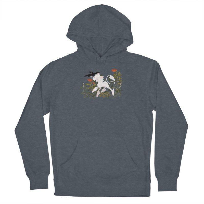 Crow & Unicorn Men's Pullover Hoody by StrangelyKatie's Store