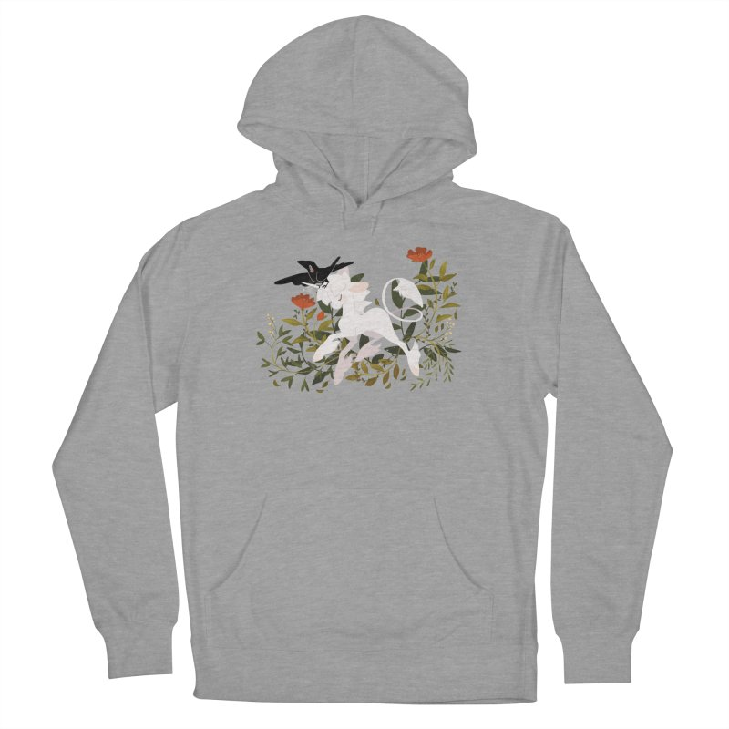 Crow & Unicorn Women's French Terry Pullover Hoody by StrangelyKatie's Store