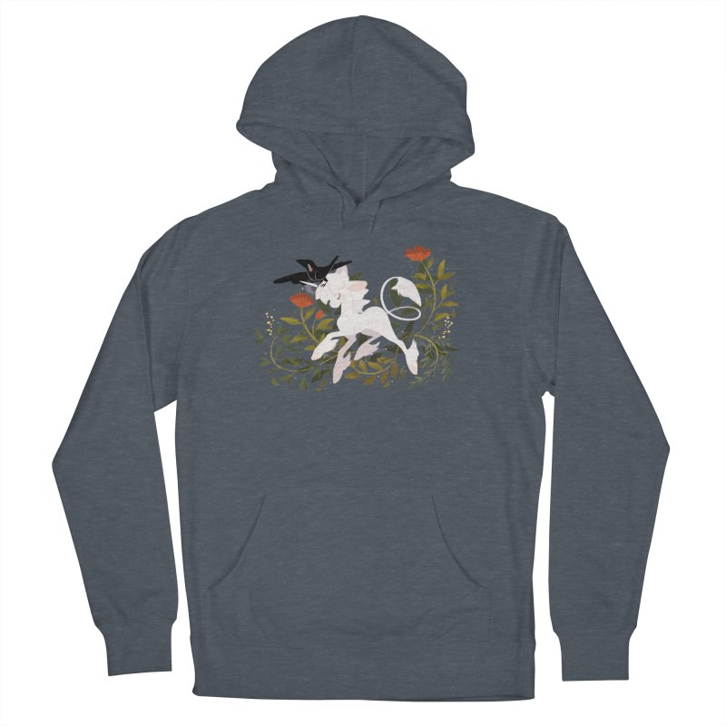 Crow & Unicorn Men's Pullover Hoody by StrangelyKatie's Store